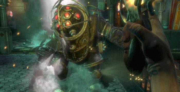'BioShock', de 2007, é um dos games de tiro em 1ª pessoa mais elogiados de todos os tempos — Foto: Divulgação/2K Games