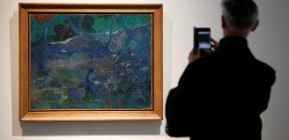 'Te Bourao II', quadro de Paul Gauguin — Foto: Reuters/Christian Hartmann/File Photo