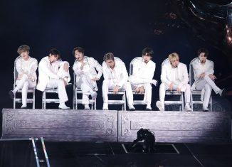 BTS se apresenta em São Paulo — Foto: BigHit Entertainment Bts/Divulgação