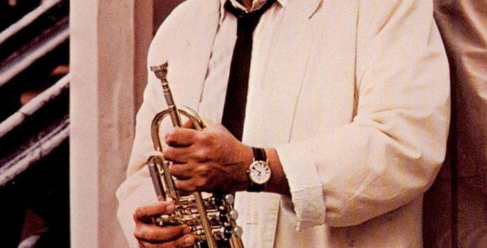 Claudio Roditi na capa do álbum 'Gemini man', de 1988 — Foto: Reproduçã