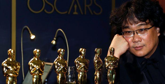 'Parasita', do diretor Bong Joon-ho, ganhou quatro Oscars — Foto: Eric Gaillard/Reuters