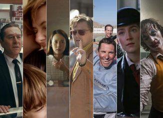 '1917', 'O irlandês', 'História de um casamento', 'Parasita', 'Era uma vez em Hollywood', 'Ford vs Ferrari', 'Adoráveis mulheres', 'Coringa' e 'Jojo Rabbit' são os indicados a melhor filme no Oscar 2020 — Foto: Divulgação