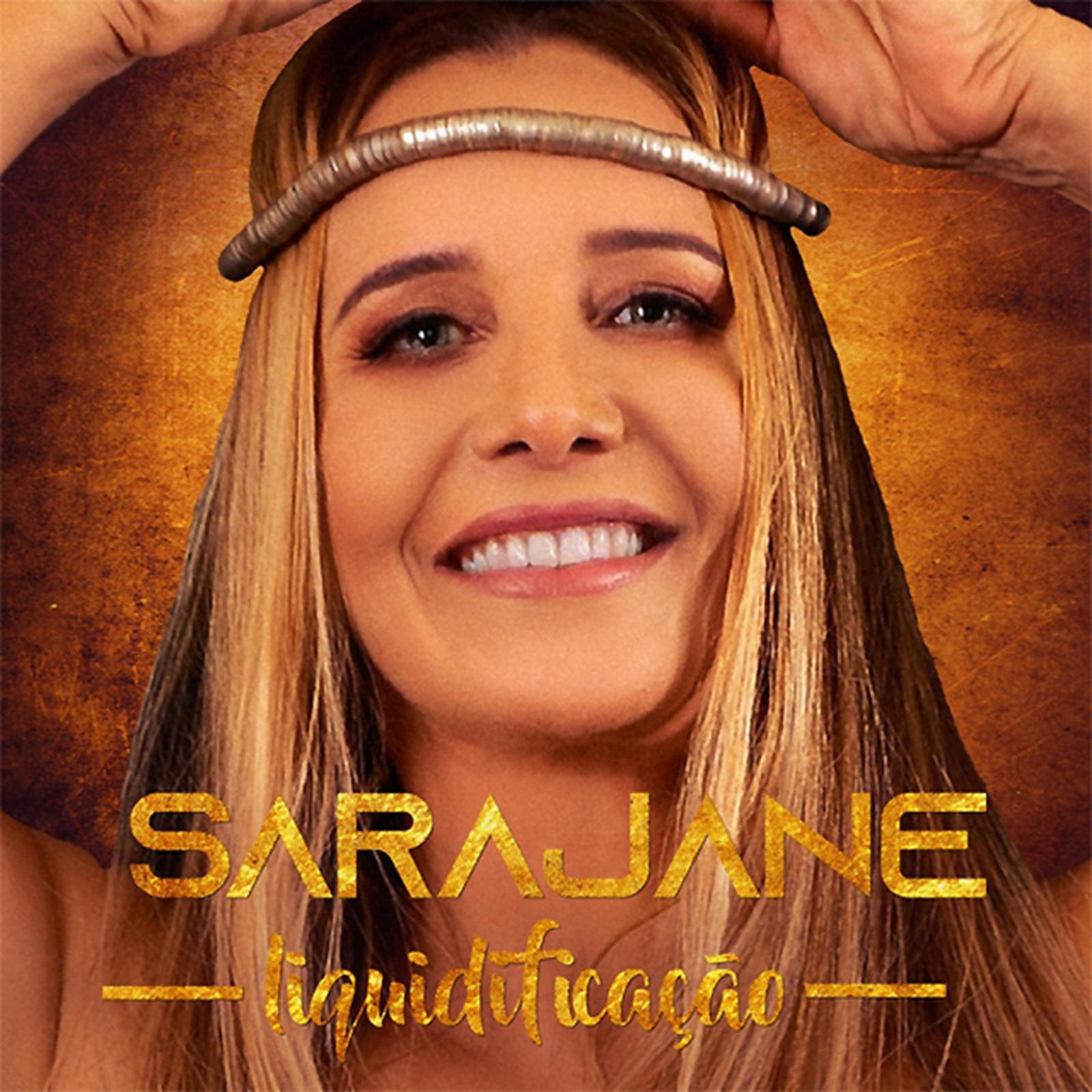 Capa do EP 'Liquidificação', de Sarajane — Foto: Reprodução