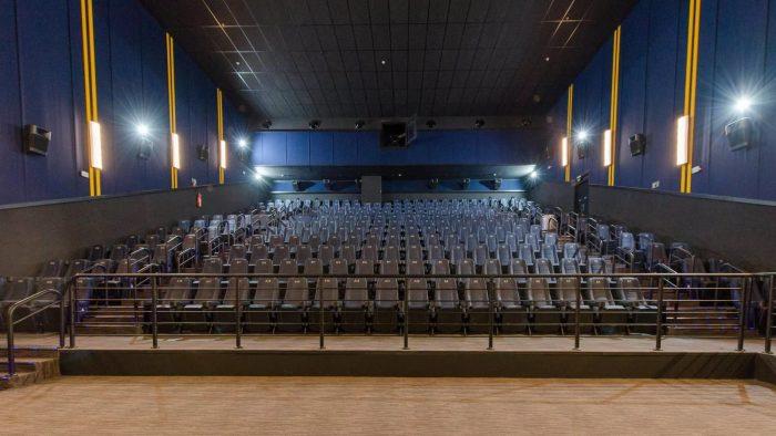 Cinemas de Cuiabá suspendem sessões por causa da pandemia do coronavírus — Foto: Assessoria