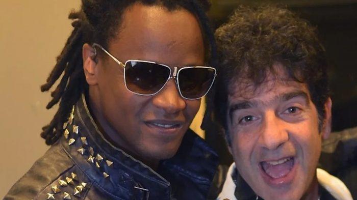 Toni Garrido e George Israel são parceiros de Dany Dee e Rasta na criação de 'A bomba' — Foto: André Muzell / Ag. News