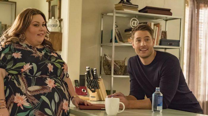 Chrissy Metz e Justin Hartley em cena de 'This is us' — Foto: Divulgação