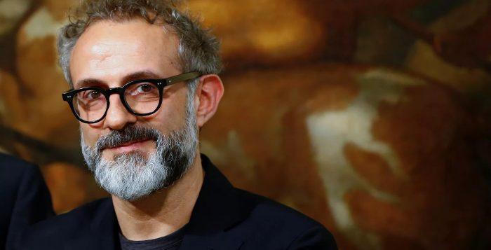 Massimo Bottura, chef do Osteria Francescana, considerado o melhor restaurante do mundo pelo ranking The World's 50 Best Restaurants — Foto: REUTERS/Tony Gentile
