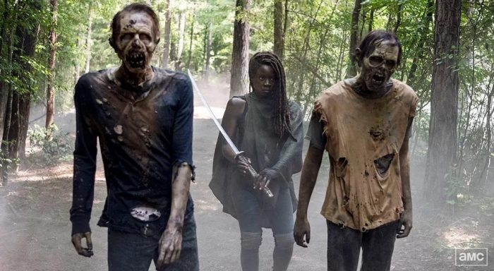 Cena do seriado 'The Walking Dead' — Foto: Divulgação