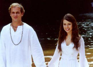 Guilherme Fontes e Sandy em 'Estrela-Guia' — Foto: Marcela Haddad/Globo
