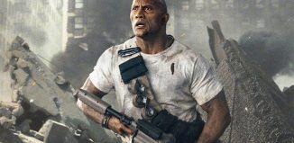 Dwayne Johnson em cena de 'Rampage: A fúria dos monstros' — Foto: Divulgação