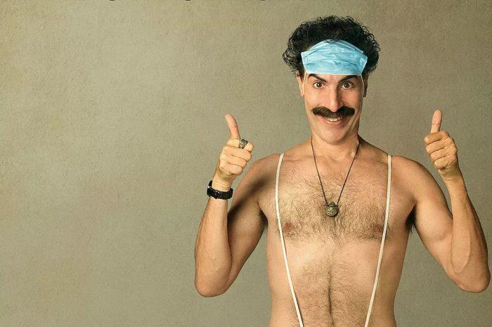 Sacha Baron Cohen no segundo filme do personagem Borat — Foto: Divulgação