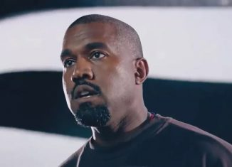 Kanye West discursa em vídeo de campanha à presidência dos EUA — Foto: Reprodução/Twitter/kanyewest