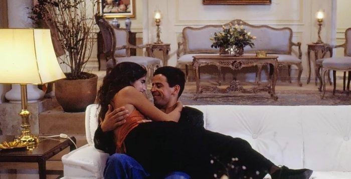 Malu Mader e Taumaturgo Ferreira em 'Top Model', 1989 — Foto: Nelson Di Rago/Globo