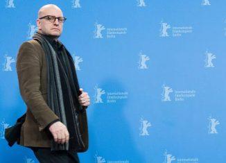"""O diretor americano Steven Soderbergh durante apresentação do longa """"Unsane"""" no festival Berlinale, em Berlin — Foto: Stefanie Loos / AFP"""