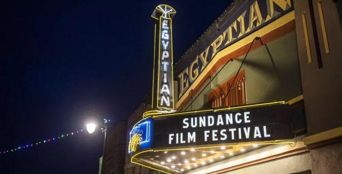 Fachada do Egyptian Theatre, onde costuma acontecer as exibições do Festival de Sundance, em Utah. Foto — Foto: Arthur Mola/Invision/AP, Arquivo