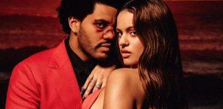The Weeknd lança remix de 'Blinding Light' com participação de Rosalía — Foto: Reprodução/Instagram