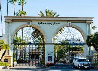 O estúdio Paramount é um dos fechados em dezembro durante aumento de casos de Covid em Los Angeles — Foto: Valerie Macon/AFP