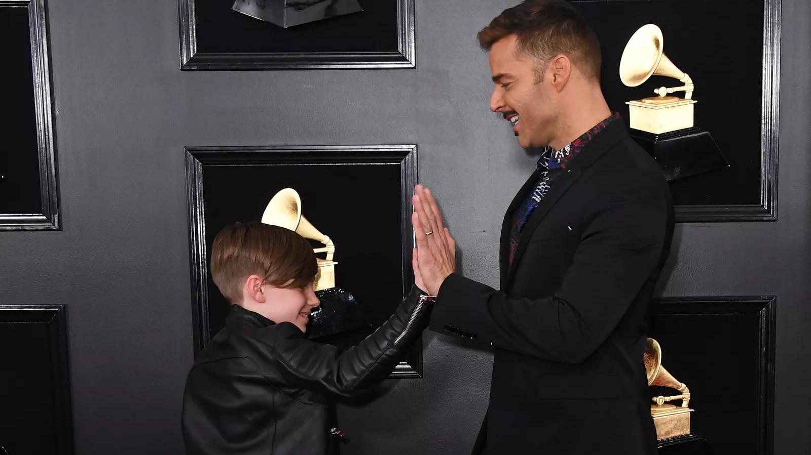 Grammy 2019 Ganhadores: Ricky Martin Leva Filho Matteo, De 10 Anos, à Festa Do
